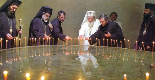 Vizita Patriarhului Teoctist şi a Patriarhului Petros al VII-lea la Sighet