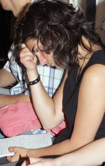 Oana Şipoş, elevă a Şcolii de Vară 2004