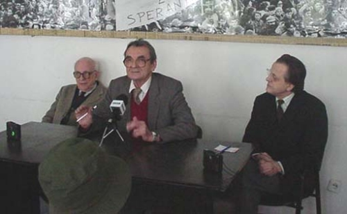 Iuliu Maniu, 50 de ani de la moarte. Acad. Şerban Papacostea, Romulus Rusan, acad. Alexandru Zub