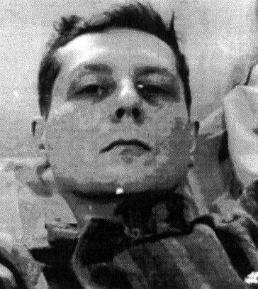 Victor Rădulescu Pogoneanu - fotografie din timpul detenţiei în închisoarea spital Văcăreşti