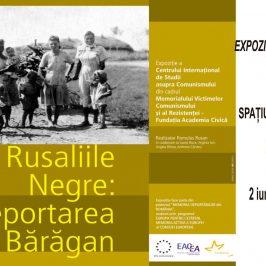 Expoziţia Rusaliile Negre: deportarea în Bărăgan deschisă la Memorialul Sighet