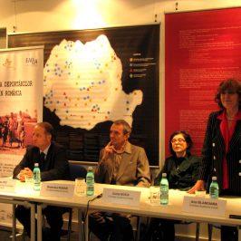 Conferiţă de închidere a proiectului Memoria deportărilor din România