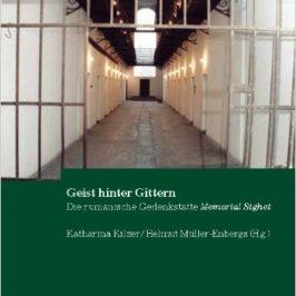 Un volum în onoarea jublileului de 20 de ani al Memorialului Sighet a apărut în Germania