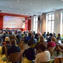 3 decembrie 2013, Masa rotundă la Maison de l'Europe din Paris: Statul de drept în fosta Europă de Est, 20 de ani după crearea Memorialului Sighet