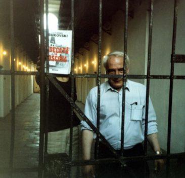 Vladimir Bukovski, oaspete la Memorialul Sighet (2003)