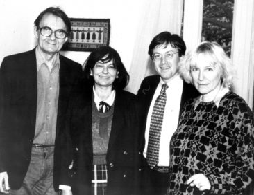 Tom Blanton alături de Ana Blandiana, Ioana Ieronim și Romulus Rusan
