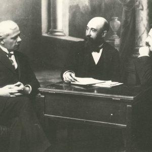Alexandru Lapedatu cu Nicolae Iorga