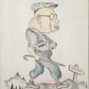Ion Lapedatu - caricatură