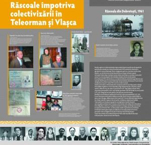 """panou rascola Teleorman 1961, Expoziţia """"Recviem pentru ţăranul român. Ţăranii şi comunismul"""""""