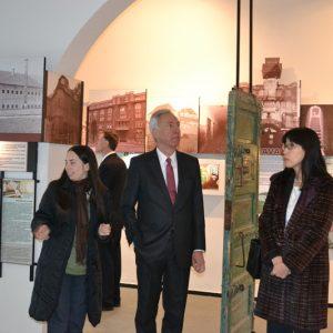 Vizita ES Hans Klemm, ambasadorul SUA, la Memorialul Sighet