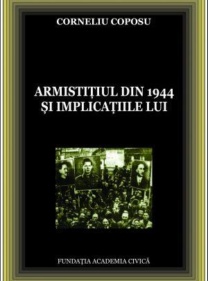 Corneliu Coposu, Armistițiul din 1944 și implicațiile lui
