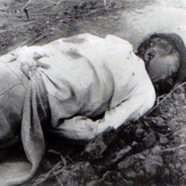 Țărani din Vadu Roșca, Vrancea, împușcațila 4 decembrie 1957 în timpul revoltei țărănești