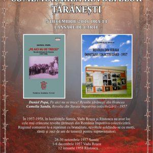 Revoltele țărănești de la Suraia, Vadu Roșca și Răstoaca comemorate la Casa de Cultură Odobești