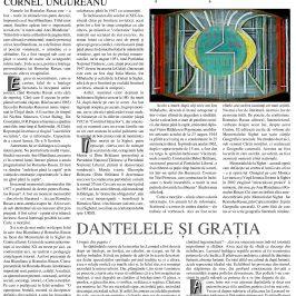 Revista Orizont: Cornel Ungureanu, Romulus Rusan și cărțile sale