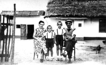 Familia Nicolae Saftencu din Jimbolia, deportată în iunie 1951 la Dâlga Nouă