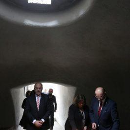 Vizita ES Domnul Marcin Wilczek, Ambasador al Republicii Polone în România la Memorialul Sighet