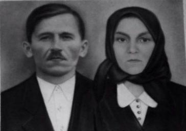 Familia Maria şi Nicolae Pop din Lăpuşul Românesc