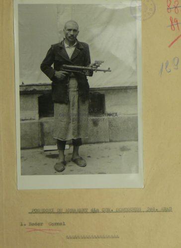 Lista țăranilor din Șomoșcheș participanți la revoltă,  condamnați prin sentința nr. 1730/1949  a Tribunalului Militar Timișoara