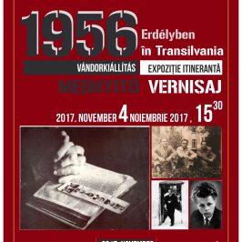 Expoziția 1956 în Transilvania, deschisă la Memorialul Sighet