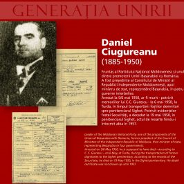 The Unionist Generation Victim of the Communist Repression: Daniel Ciugureanu