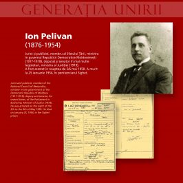 The Unionist Generation Victim of the Communist Repression: Ion Pelivan