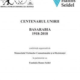 Conferința CENTENARUL UNIRII. BASARABIA  1918-2018, Sighet, 9-12 martie 2018