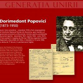 Dorimedont Popovici. Generația Unirii, victimă a represiunii comuniste