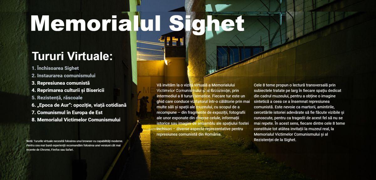Muzeul Sighet - Tururi virtuale